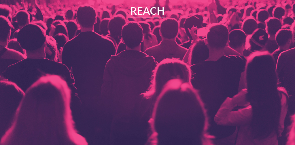 Key social engagement KPIs - Reach